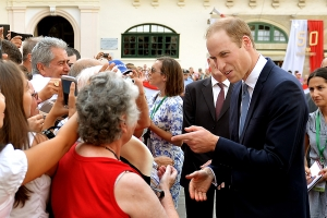 Duke of Cambridge's tour of Malta, September 2014